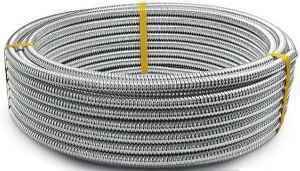 Труба гофрированная нержавеющая сталь неотожженная 15 мм