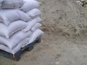Песок в мешках в Ростове-на-Дону 40 кг сеяный