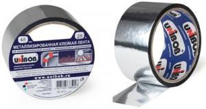 Металлизированная клейкая лента Unibob 48мм*50м