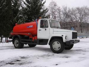 Ассенизатор ГАЗ-САЗ-39014-12
