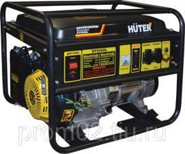 Бензогенератор Huter DY6500L (5кВт/230В)