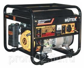 Бензогенератор Huter DY2500L (2кВт/230В)