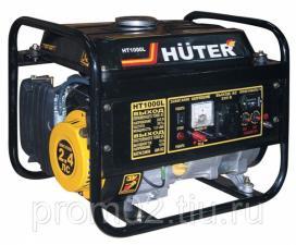 Бензогенератор Huter HT1000L (1кВт/230В)