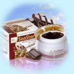 Омолаживающий пилинг- гель с гиалуроновой кислотой Шоколад SeaStars Природная косметика 50 ml