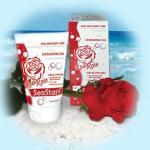 Отшелушивающий гель (скраб) для лица и тела Красная Роза SeaStars Природная косметика 120 ml