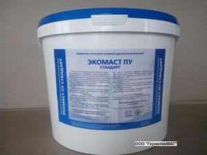 Герметик Экомаст ПУ Стандарт полиуретановый для деформационных швов