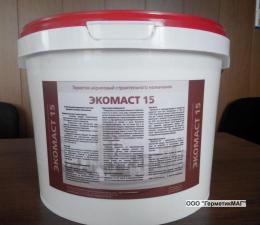 Герметик Экомаст 15 акриловый для герметизации деформационных швов