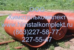 Змеевик наружный ППУА 35.01.00.300, запчасти ППУА 1600-100, АДПМ 12-150