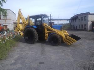 Экскаватор - погрузчик ЭО-2626 на базе трактора МТЗ, ЮМЗ