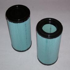 Воздушный фильтр для погрузчика Komatsu FD15, двигатель Isuzu C240