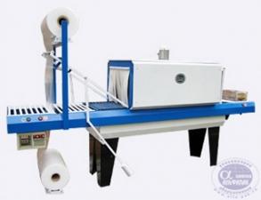 Термоусадочный аппарат для упаковки бутылок, коробок, хозяйственных товаров АП ТПЦ-550Р