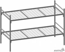 Кровати металлические двухъярусные с бесплатной доставкой в любой город