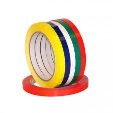 Лента клейкая для клипсатора, цветная (красная, синяя, зеленая, желтая)