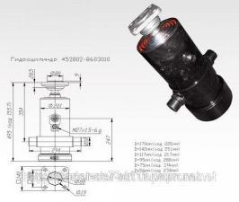 Гидроцилиндр подъема кузова КАМАЗ 452802-8603010