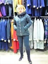 Зимняя женская куртка, цвет чёрный