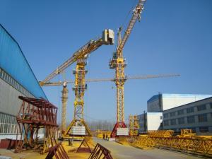 Безоголовочный башенный кран GGT-5516