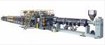 Экструзионная линия для производства композитных, полимерных алюминиево-пластиковых листов