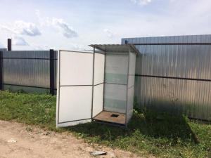 Туалет дачный с бесплатной доставкой