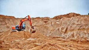Песок карьерный намывной крупнозернистый 2,5 - 3,0 мм