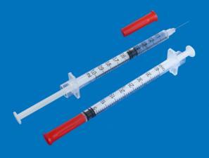 Шприц 1 ml (U-40)