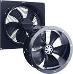 Осевые вентиляторы ECW/ECR теперь с ЕС-моторами