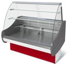 Витрина холодильная ВХСд-1,2 Таир. Витрина холодильная Таир ВХСд-1,2 . Витрина холодильная для магазина.