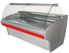 Витрина холодильная ВХС-2,0 Carboma. Витрина холодильная Полюс ВХС-2,0 Carboma. Витрина холодильная для магазина.