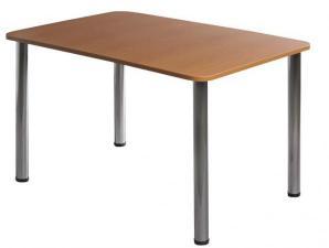 Стол обеденный 1500х800. Стол обеденный 1500*800мм, 4 опоры ?50мм. Стол обеденный для столовой,кафе. Стол обеденный для общепита. Обеденный стол для столовой и кафе.