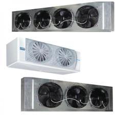 Воздухоохладители для заморозки продуктов. Установка, монтаж, Крым.
