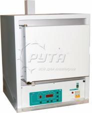 Печь муфельная ЭКПС V-10М (камера из МКРВ 192х290х167 мм, многоступенчатый микропроцессорный регулятор, автономная вытяжка)