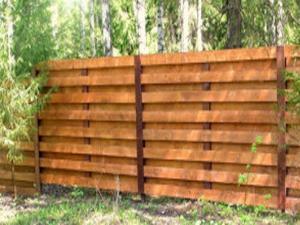 Деревянный забор Z-02