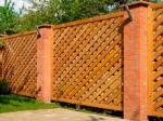Деревянный забор Z-03