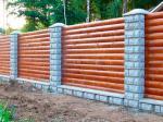 Деревянный забор Z-05