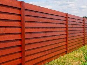 Деревянный забор Z-06