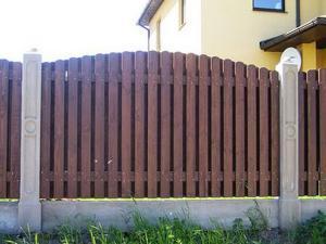 Деревянный забор Z-07