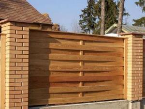 Деревянный забор Z-08