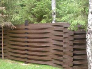 Деревянный забор Z-09