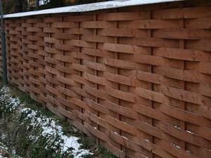 Деревянный забор Z-10