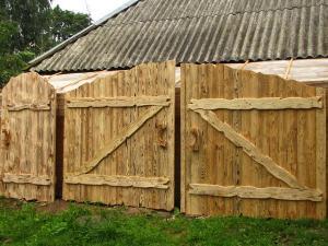Деревянный забор Z-14