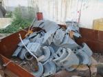 Лопости для смесителя асфальтного завода LB 500