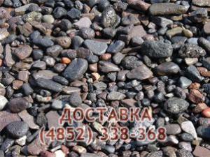 Щебень гравийный 5-20, 20-40, 40-70 мм
