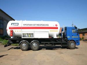 Аренда и услуги газовоза