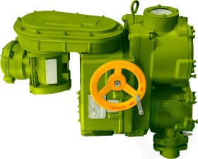 Многооборотные электроприводы  Для запорной арматурыэлектроприводы с двусторонней муфтой  Специальное исполнение - ТУ 26-07-1259-80
