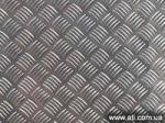 Рифлёный лист алюминиевый Квинтет.