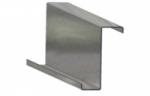 Стальной гнутый тонкостенный Z-образный окантованный профиль