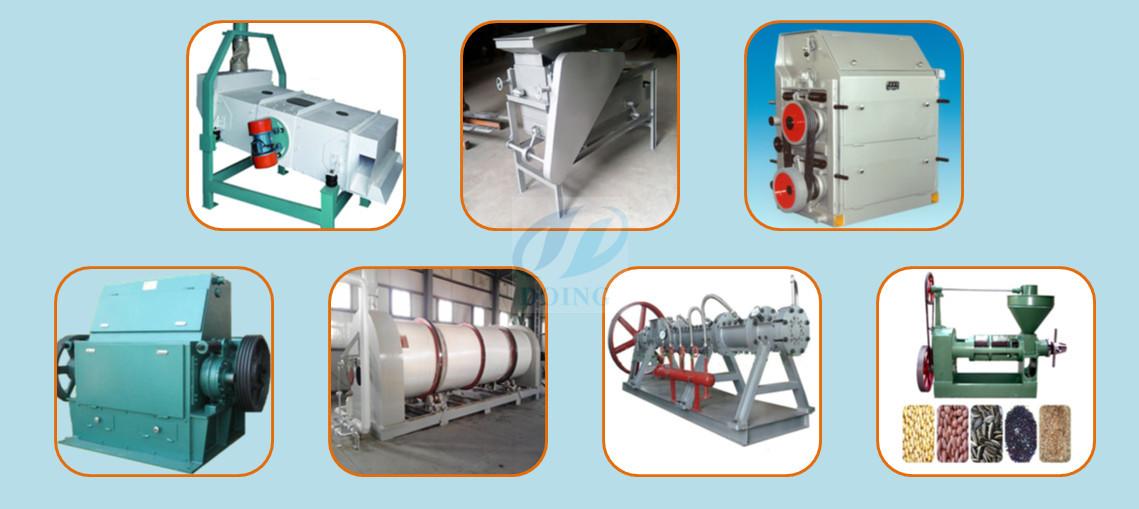 Оборудование для предварительной обработки и прессования соевого масла
